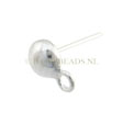 OORSTEKERS ZILVER 925 STERLING, BALI STRAK 5.5mm